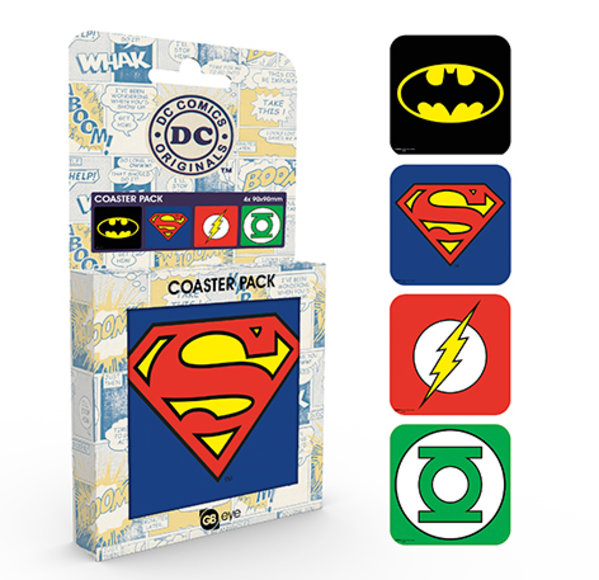 DC Comics Logos Coaster Box