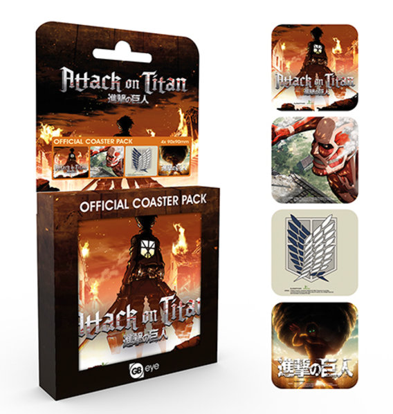 Attack on Titan Mix Coaster Box