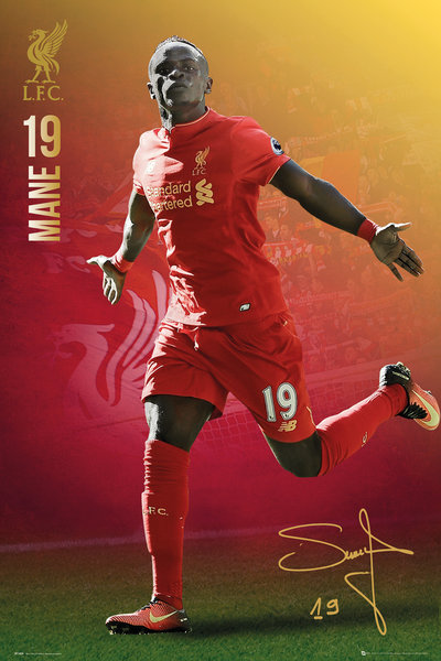 LIVERPOOL Mane 16/17 Maxi Poster