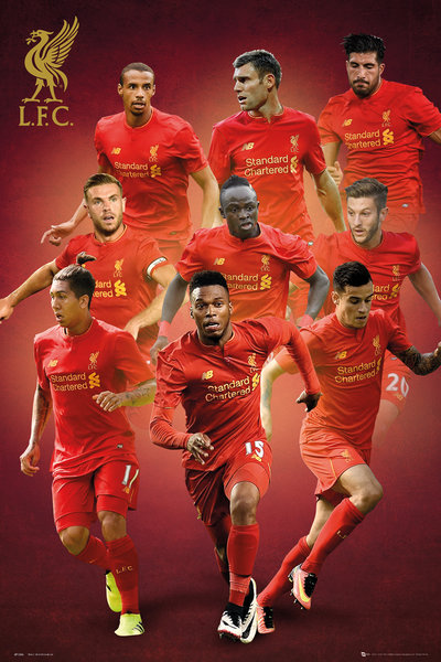 LIVERPOOL Players 16/17 Maxi Poster