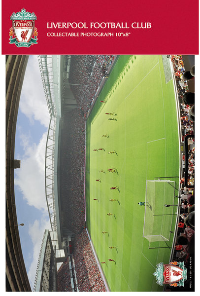 "Liverpool Anfield Matchday 10"" x 8"" Bagged Photographic"