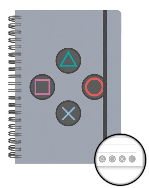PLAYSTATION Buttons A5 Notebook