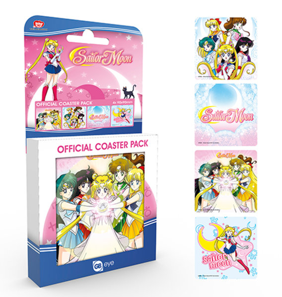 Sailor Moon Mix Coaster Box