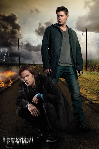 SUPERNATURAL Dean and Sam Maxi Poster