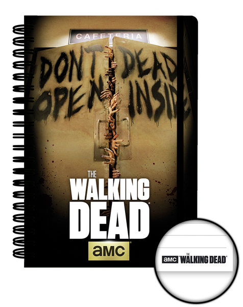 The Walking Dead Dead Inside A5 Notebook