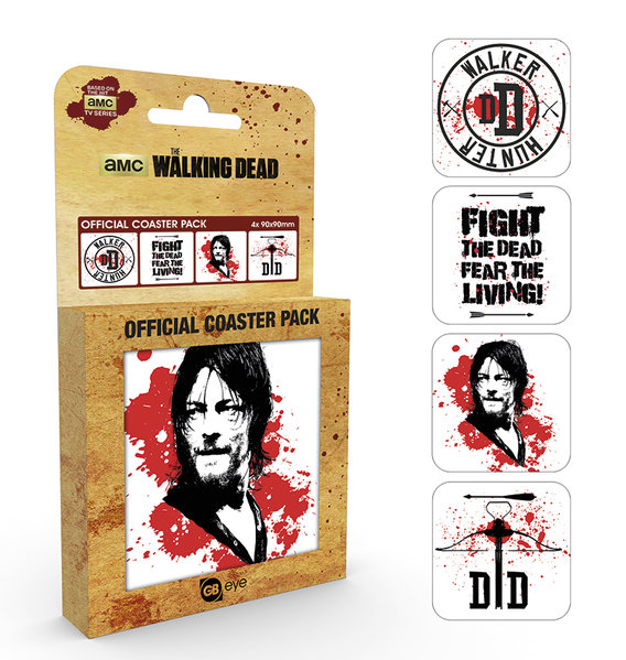 THE WALKING DEAD Daryl Coaster Box