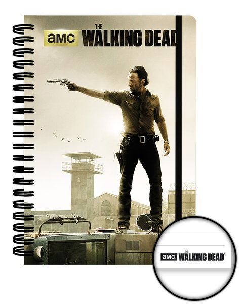 The Walking Dead Prison A5 Notebook