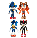 Sonic Boom Plush Figures 20 cm Assortment (6)