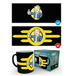 Fallout Heat Change Mug Vault Boy