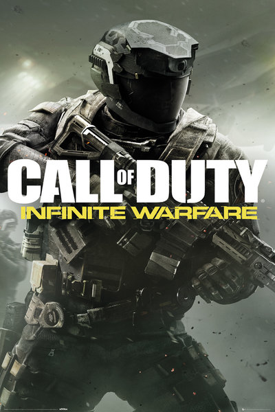 CALL OF DUTY INFINITE WARFARE New Key Art Maxi Poster