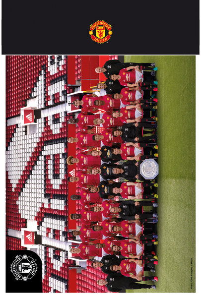 "MANCHESTER UNITED Team 16/17 10"" x 8"" Bagged Photographic"