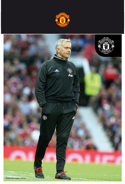 "MANCHESTER UNITED Mourinho 16/17 10"" x 8"" Bagged Photographic"