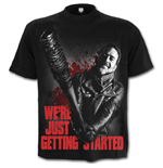 Negan - Just Getting Started - Walking Dead T-Shirt Black