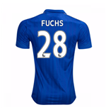 2016-17 Leicester City Home Shirt (Fuchs 28)
