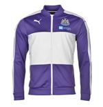 2016-2017 Newcastle Puma Stadium Jacket (Violet)
