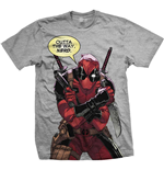 Marvel Comics Men's Tee: Deadpool Nerd