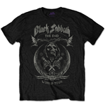 Black Sabbath Men's Tee: The End Mushroom Cloud