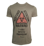 Resident Evil T-Shirt Warning