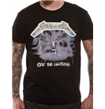 Metallica - Ride The Lightning - Unisex T-shirt Black