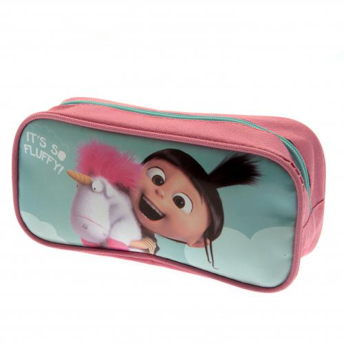 Despicable Me Pencil Case Fluffy Unicorn