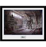 Fallout  - Red Rocket Interior framed Photo (30x40 Cm)
