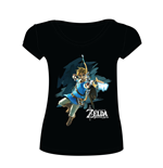 Zelda Breath of the Wild - Female  T-Shirt Link with Arrow