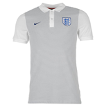 2016-2017 England Nike Authentic GS Polo Shirt (Grey) - Kids