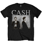 Johnny Cash Men's Tee: Mug Shot