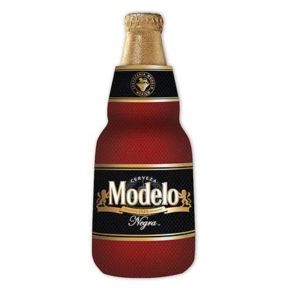 Modelo Negra Zippered Bottle Insulator