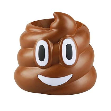 Poop Emoji Can Holder