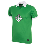 George Best Northern Ireland 1977 Short Sleeve Retro Football Shirt