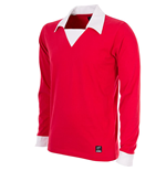 George Best Man. Utd. 1970´s Long Sleeve Retro Football Shirt