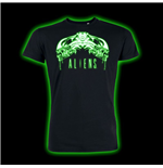 Alien T-Shirt Tribal Glow In The Dark