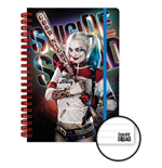 Suicide Squad Notebook A5 Harley Quinn Good Night Case (12)