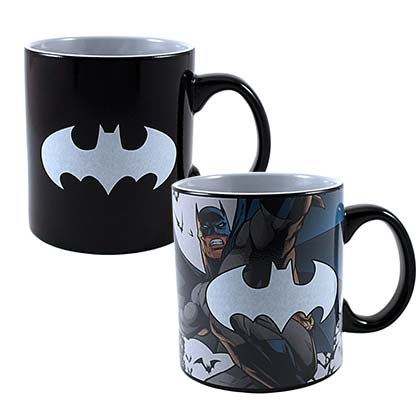 BATMAN Heat Reveal Coffee Mug