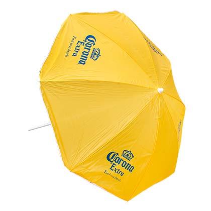 CORONA EXTRA Yellow Beach Umbrella