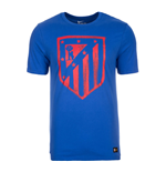 2016-2017 Atletico Madrid Nike Crest Tee (Blue) - Kids