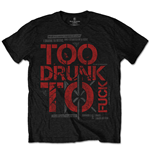 Dead Kennedys Men's Tee: Too Drunk