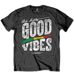 Bob Marley Men's Tee: Good Vibes