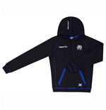 2016-2017 Scotland Macron Rugby Heavy Cotton Hooded Top (Navy) - Kids