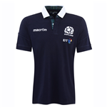 2016-2017 Scotland Home SS Cotton Rugby Shirt