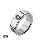 Star Wars Spinner Ring Galactic Empire Symbol