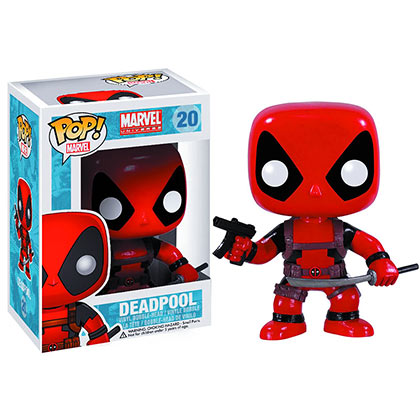 Funko Pop Marvel DEADPOOL Bobble Head
