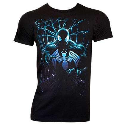 SPIDERMAN Venom Web Tee Shirt