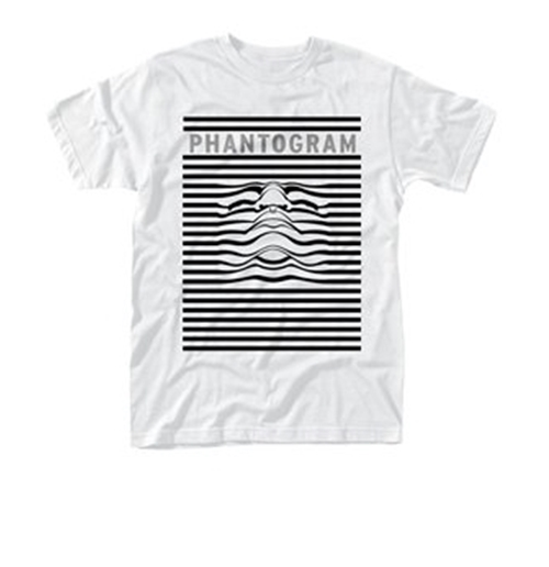 Phantogram T-shirt Striped Face