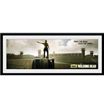 The Walking Dead - Prison Framed Picture (76x30 Cm)