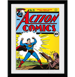 Superman - Comic Framed Picture (30x40cm)