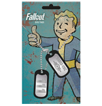 Fallout Dog Tag Necklace - Vault 111