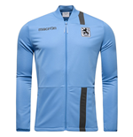 2016-2017 Munich 1860 Macron Polyester Track Top (Blue)