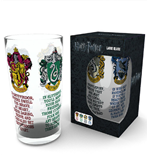 Harry Potter Glass - House Crest